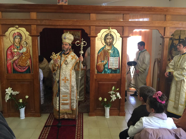 Atanáz püspök atya prédikációja